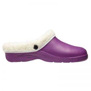 Comfi Fleece Clog – Lilac