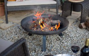 PITTSBURGH INDUSTRIAL FIREPIT LARGE