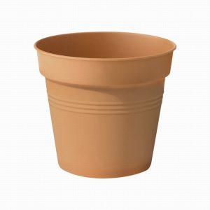 Green basics growpots Mild Terracotta