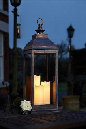 Giant Copper Lantern
