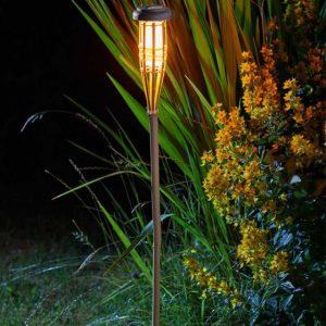 Bambool Flaming Torch