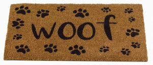 Woof Decoir Mat