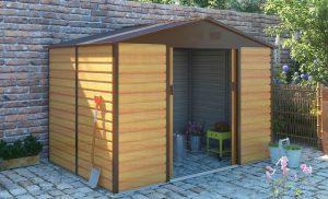 CAMBRIDGE Oak Shed – Style 3