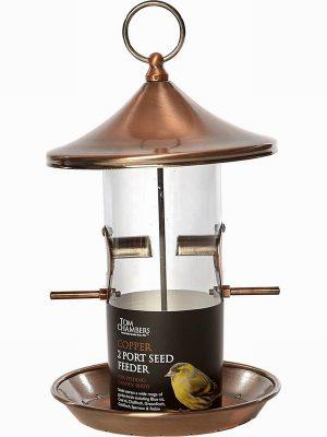 Copper Seed Feeder