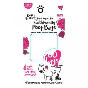 Bio-Compostable Poop Bags 4 Rolls